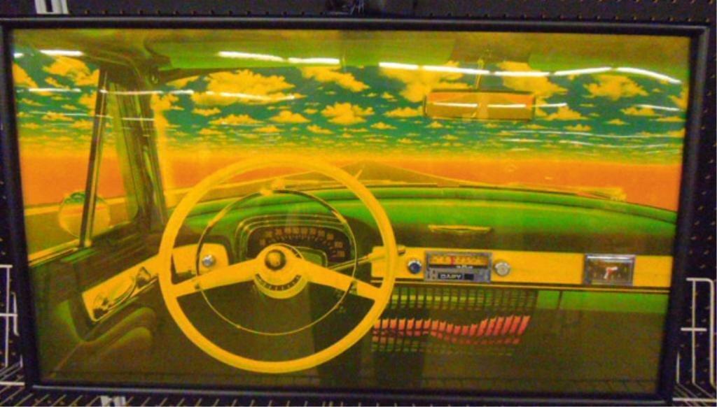 Vintage Dapy AM/FM Dash Board Clock Radio