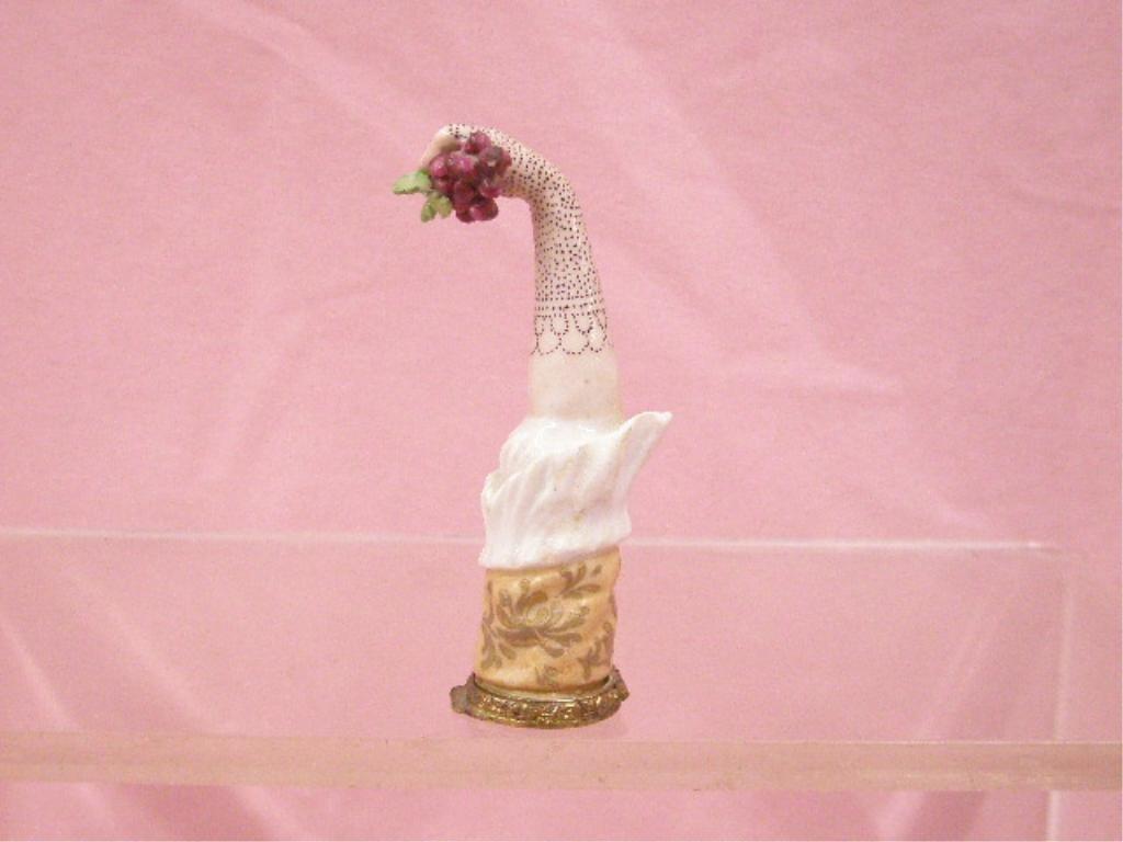 19th c. French Porcelain Snuff Box