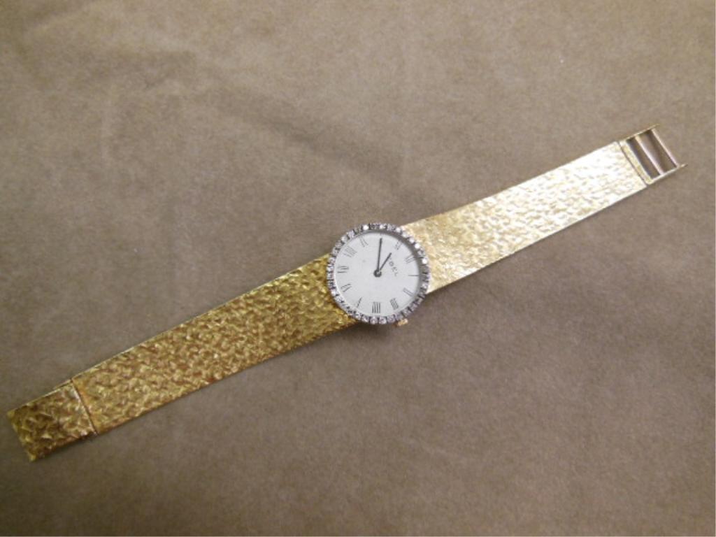 18k YG Diamond Ebel Watch