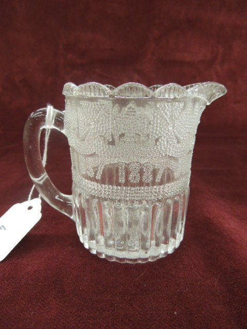 Queen Victoria Small Glass Pitcher