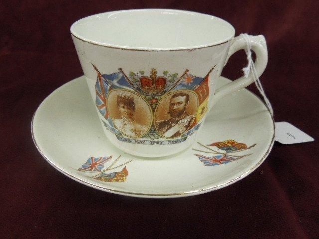 1911 Coronation Cup & Saucer