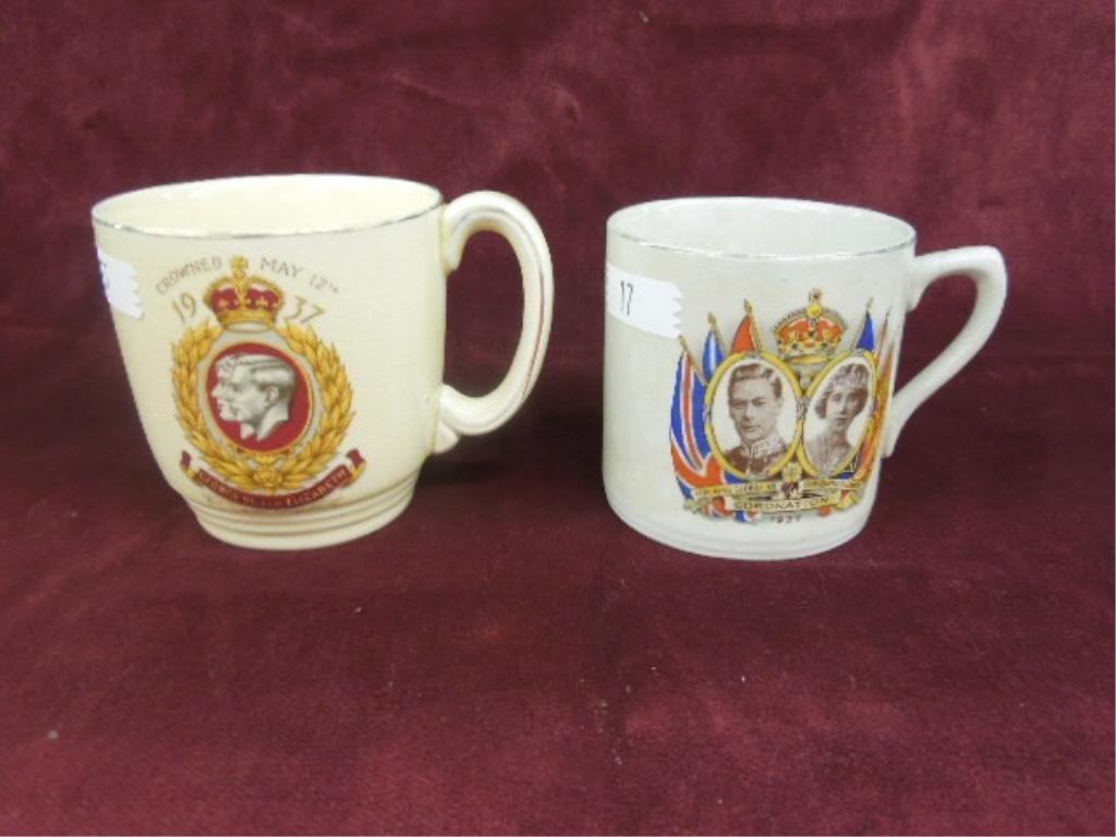 2 - George VI Coronation Cups