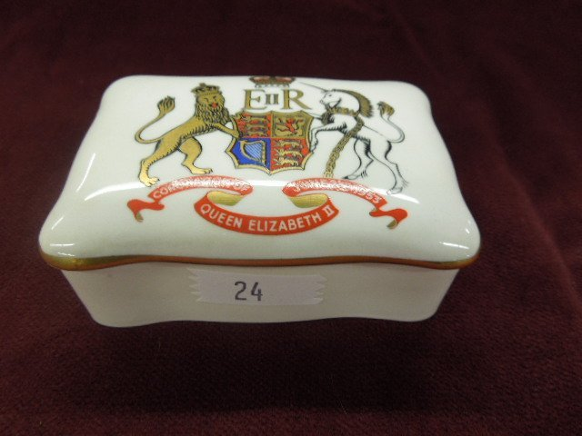 Queen Elizabeth II Coronation Box