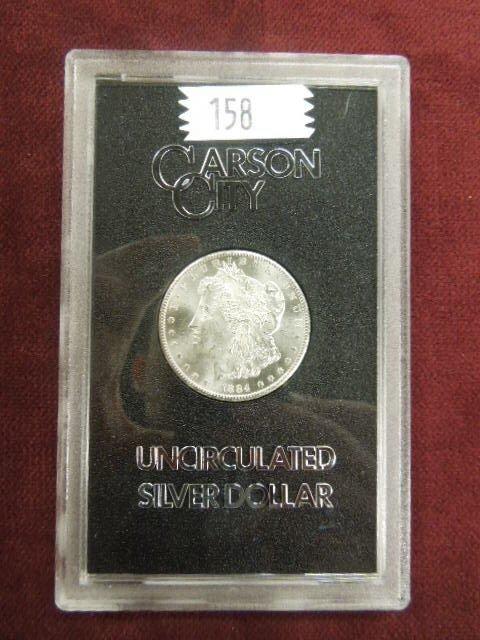 1884 Carson City UNC Silver Dollar