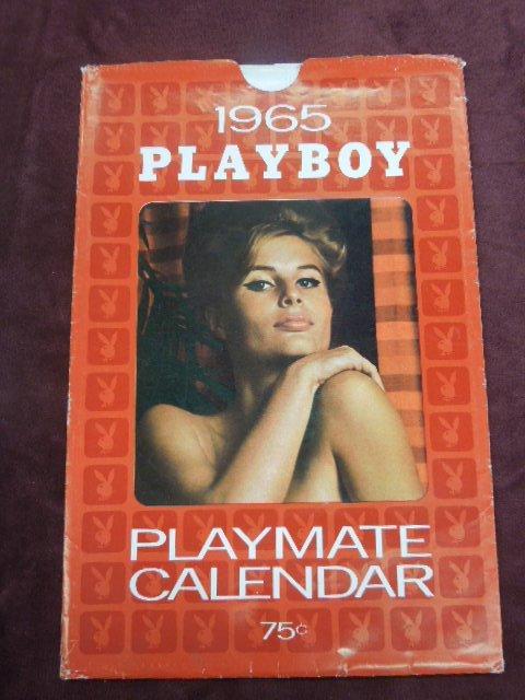 1950s & 1960s Playboy Calendars - May 02, 2013   B.S