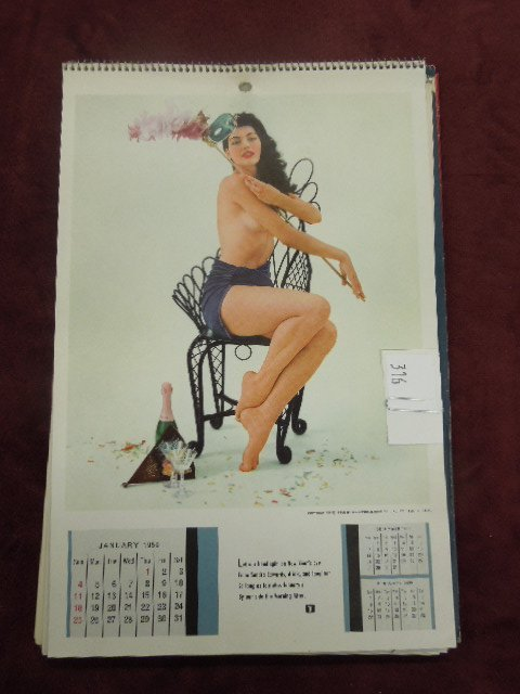 1950's & 1960's Playboy Calendars - 2