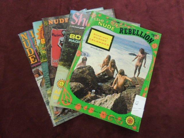 5 - 1968 Nudist Magazines