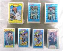 1970's & 1980's Kellogg's Baseball Card Sets