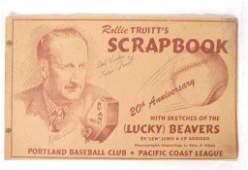 Signed 1948 Rollie Truitt's Scrapbook