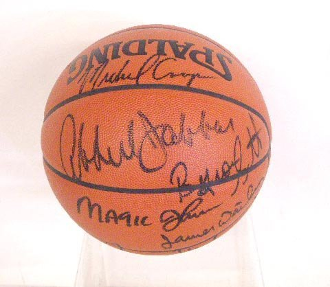 Los Angeles Lakers Signed Basketball