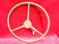 Vintage Bakelite Steering Wheel 17