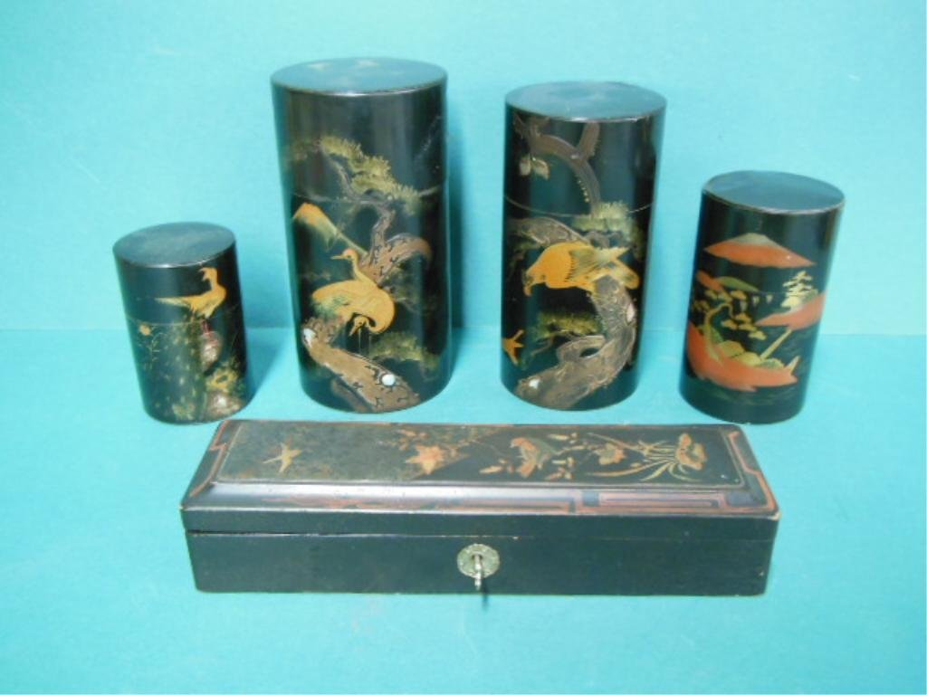 5 Oriental Containers