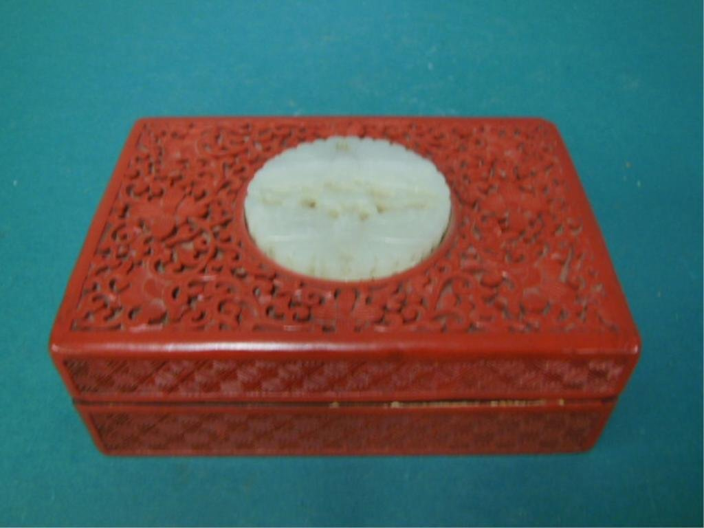 Cinnabar Box