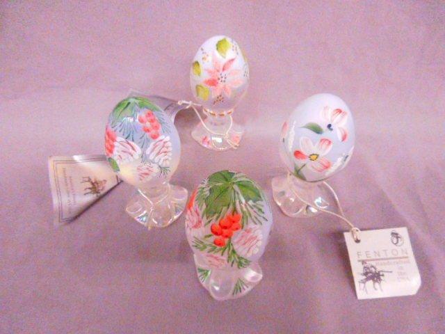 (4) Fenton Eggs
