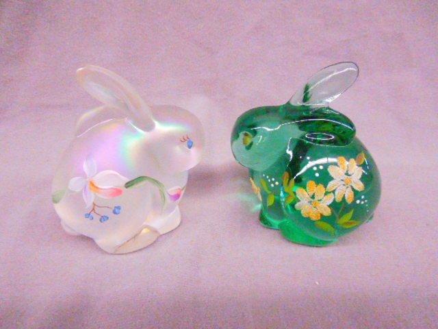 (2) Fenton Rabbits