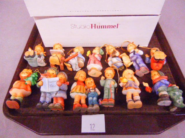 (13) Hummel Christmas Ornaments