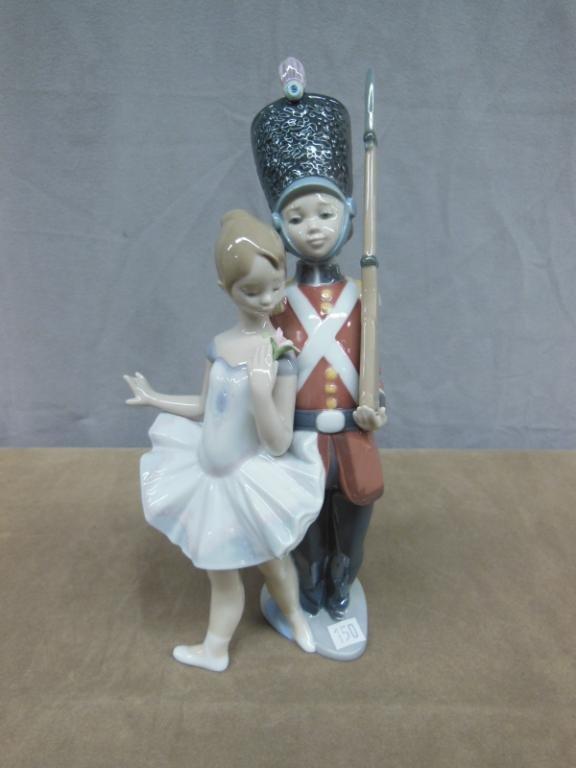 "Lladro Figure; ""Little Tin Soldier"""