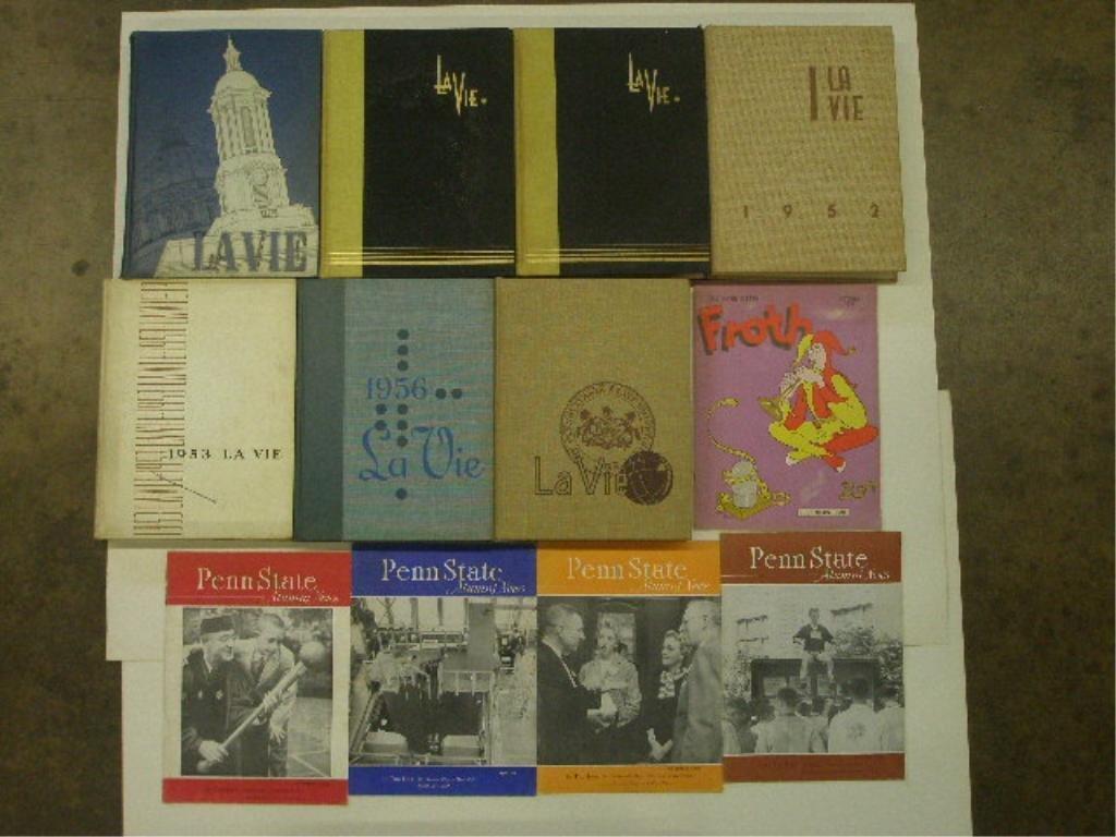 1950's Penn State Yearbooks & Magazines