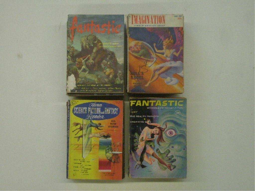 1950's & 1960's Science Fiction Magazines