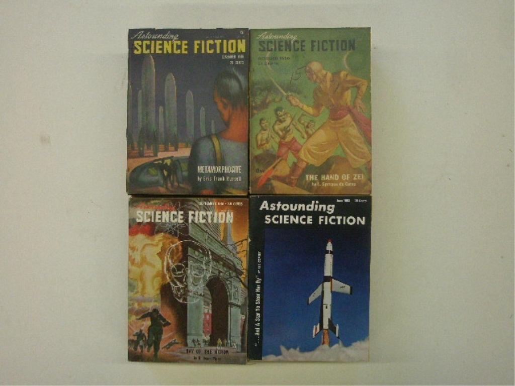 1940's & 1950's Science Fiction Magazines