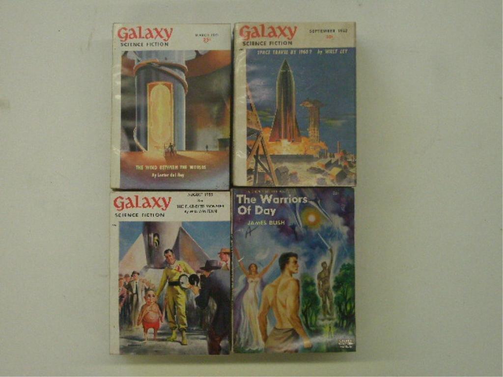 1950's Science Fiction Magazines