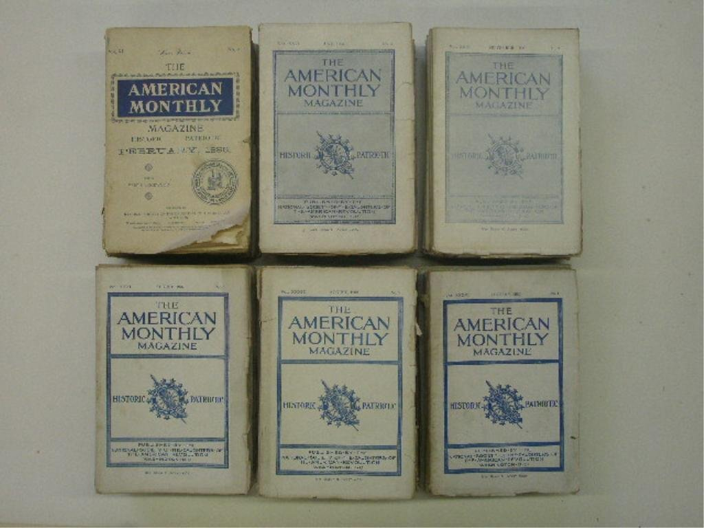 1898-1912 The American Monthly Magazine