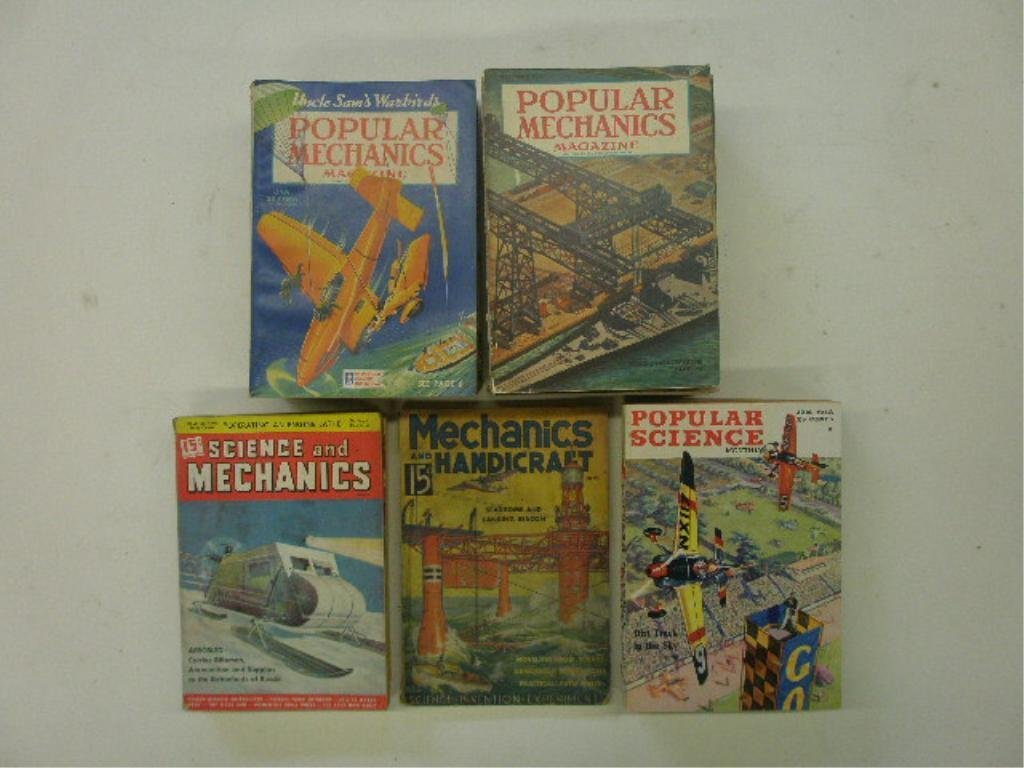 1940's Science & Mechanics & Magazines