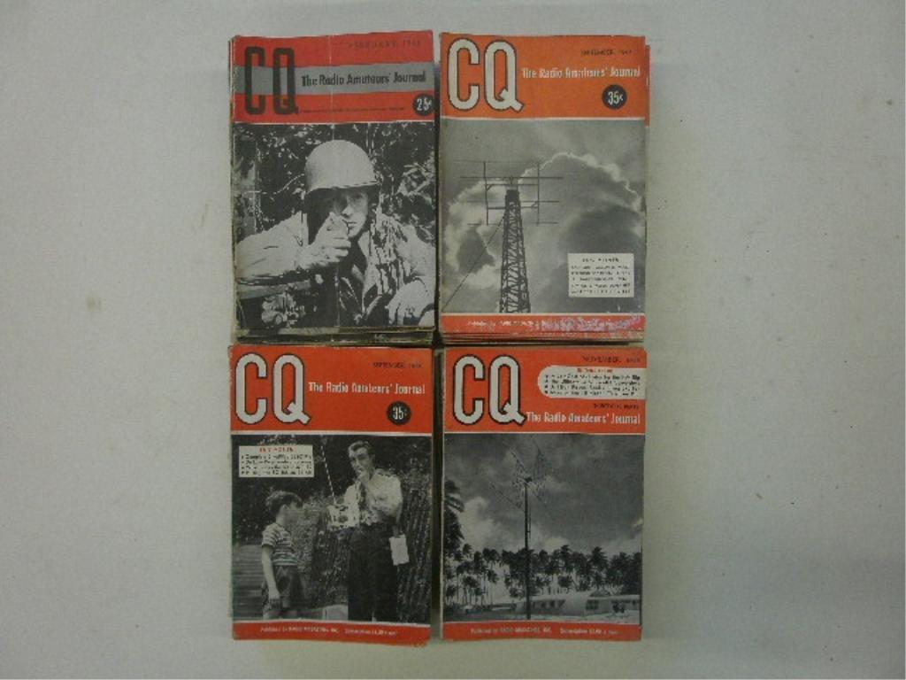 CQ Radio Amateurs' Journal Magazines