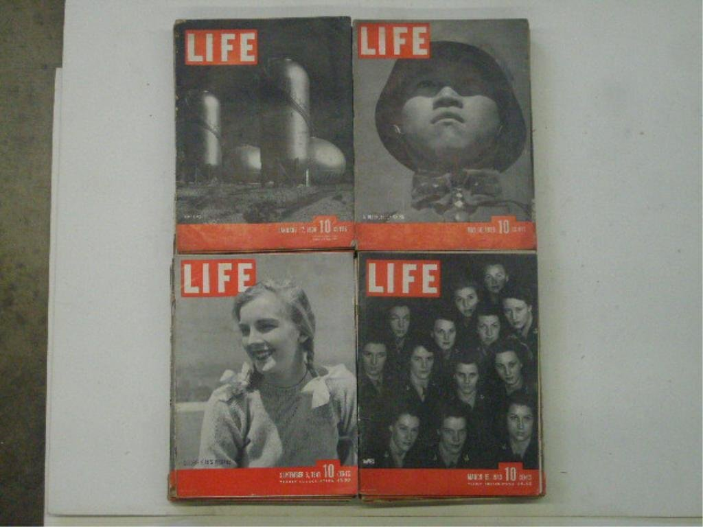 1930's & 1940's Life Magazines