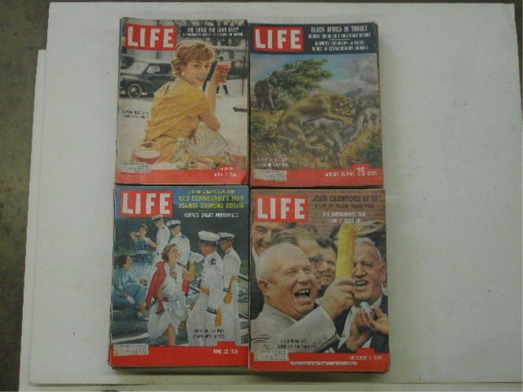 1950's Life Magazines