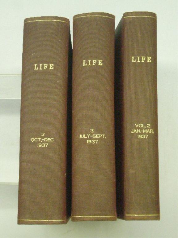 1937 Bound Life Magazine Issues