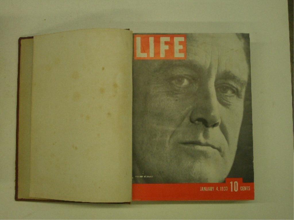 1937 Bound Life Magazine Issues - 2