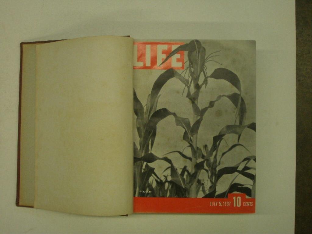 1937 Bound Life Magazine Issues - 3
