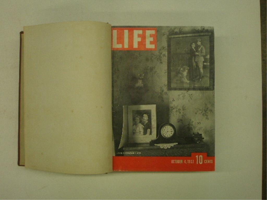 1937 Bound Life Magazine Issues - 4