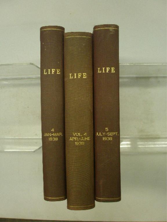 1938 Bound Life Magazine Issues