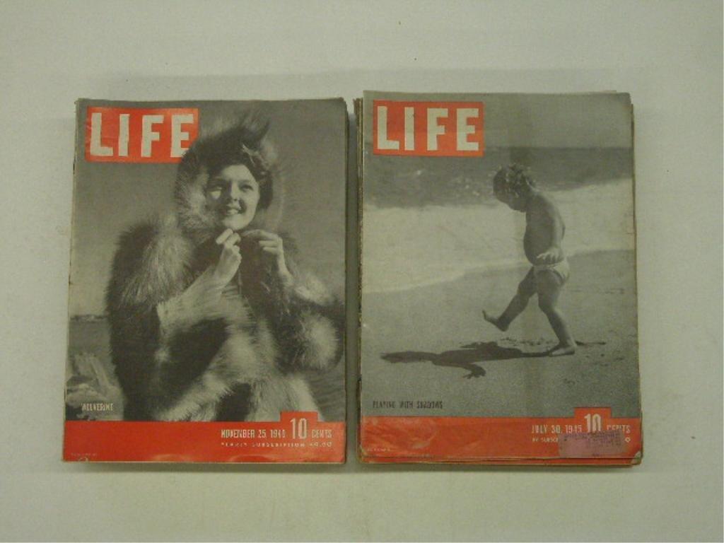 1940's Life Magazines