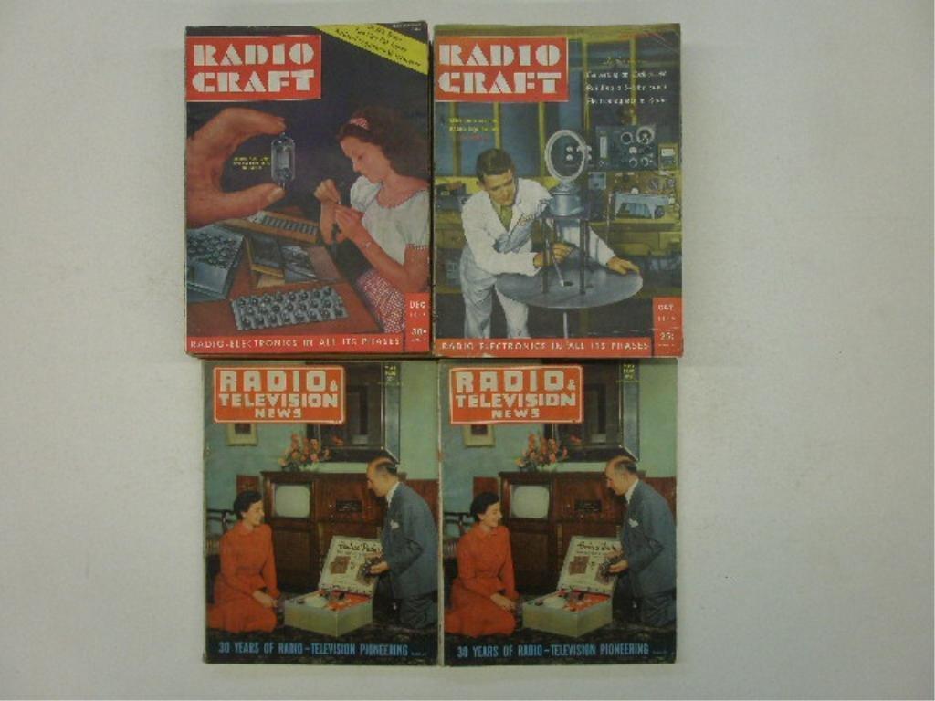 1940's & 1950's Radio Magazine
