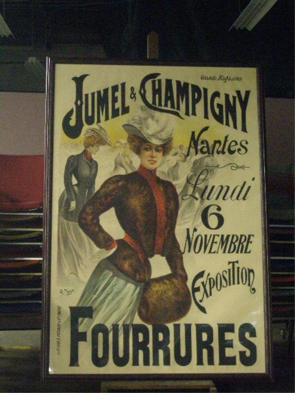 Charles Tichon French Fashion Poster
