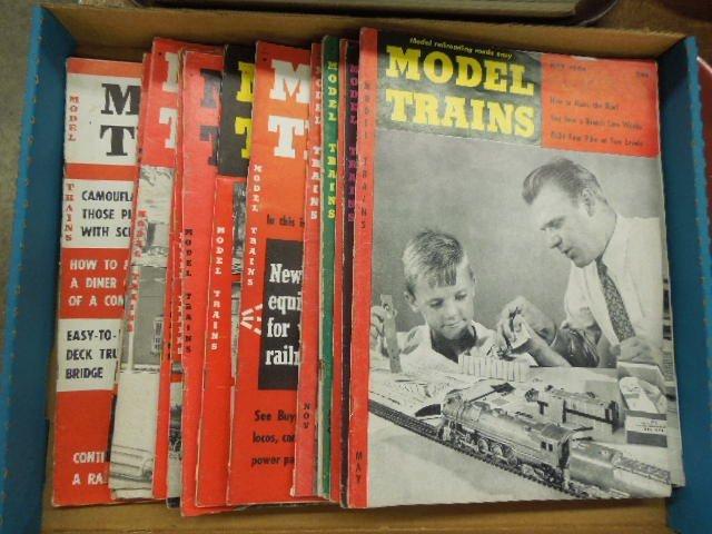Lot of 21 Model Train Magazines