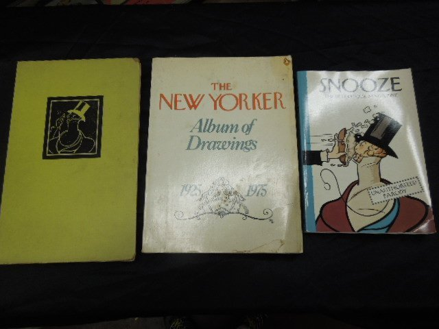 Lot of 3 New Yorker Books