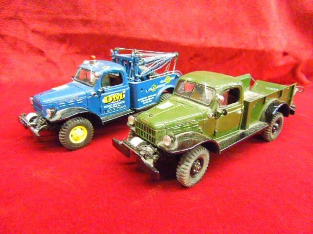 Two Diecast Trucks