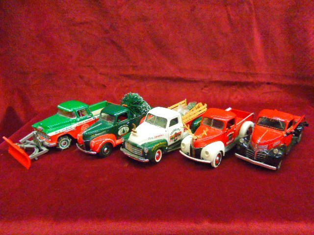Five Holiday Themed Trucks