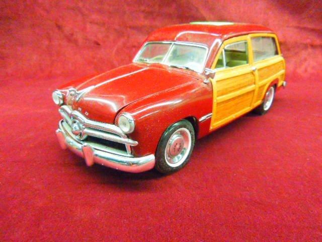 Ford Woody Wagon Diecast Car