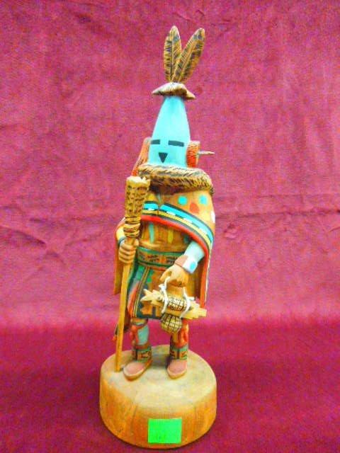 "Hopi Kachina Doll; ""Ahol"""