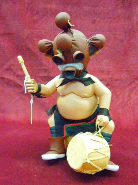Hopi Kachina Doll (Mud Head)