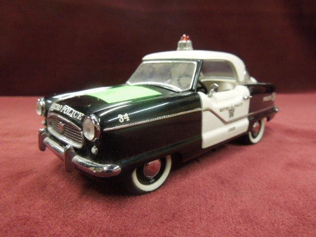 1956 Nash Metropolitan Police Car-Franklin Mint