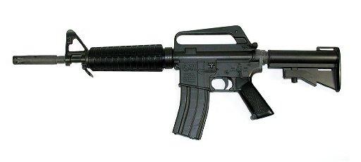 Colt M 177 Commando (AR-15) Replica - Plastic -Japan