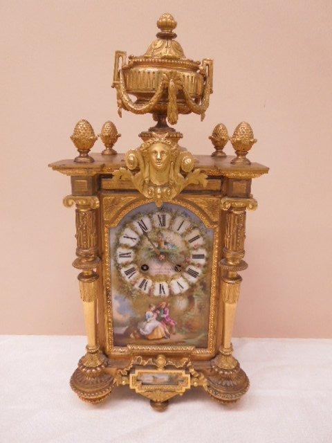 Fine 18th/19th C Louis XVI Mantle Clock