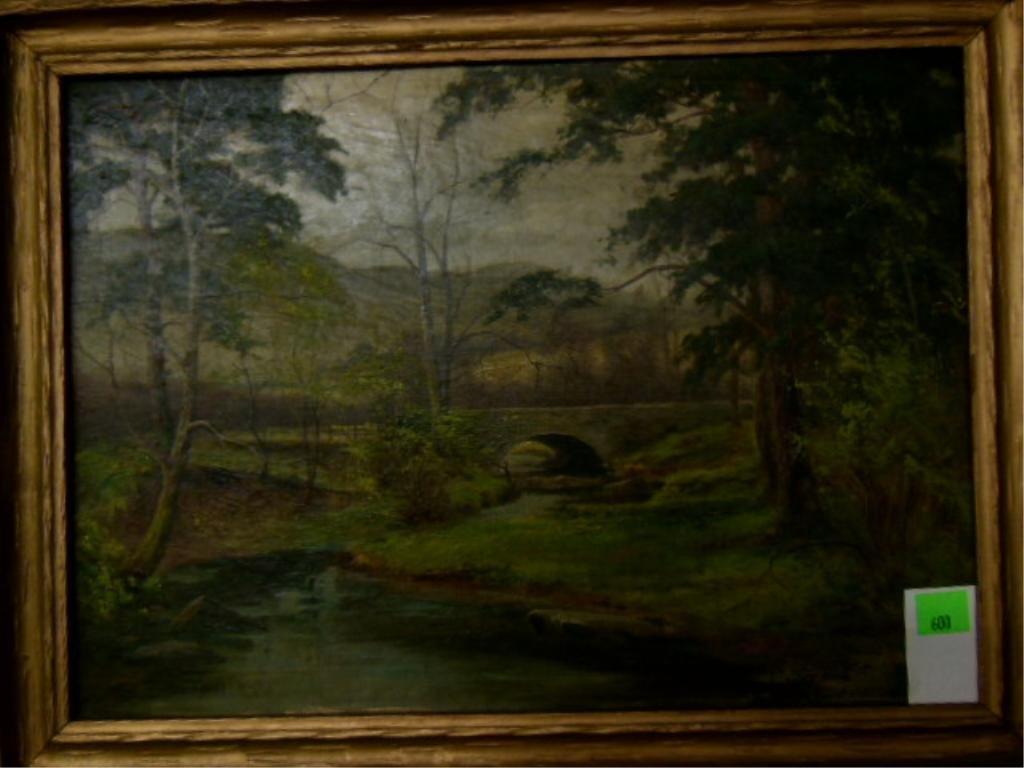 Edward H. Thompson, o/c, Summer Landscape