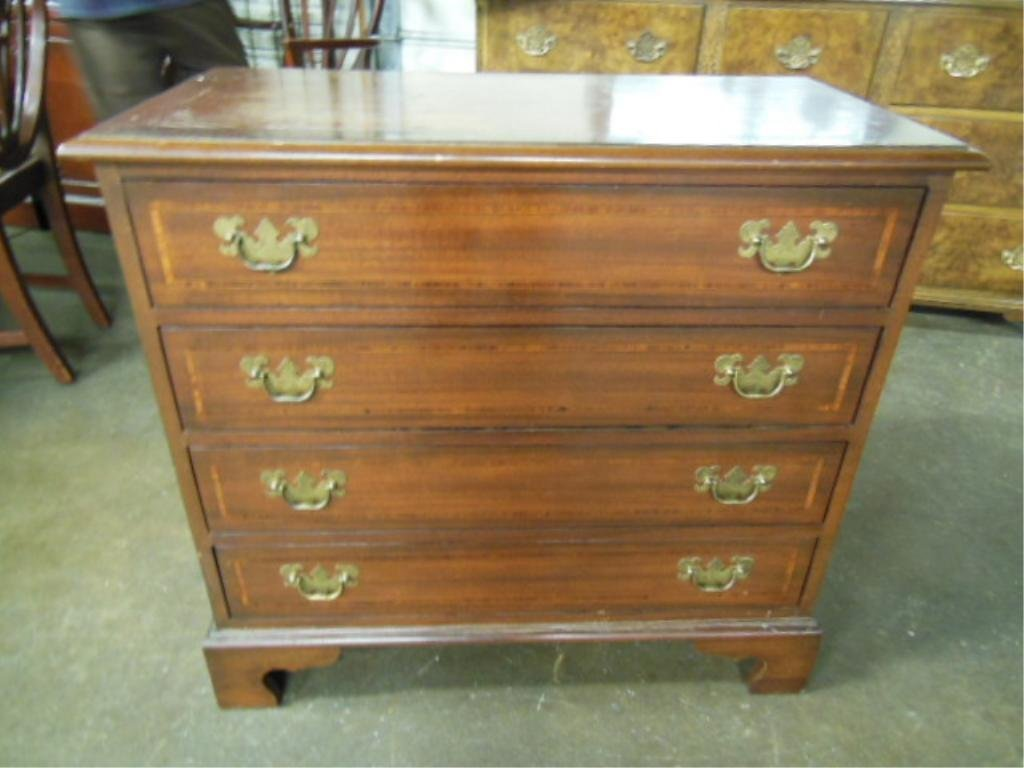 Chippendale Style Bachelors Chest